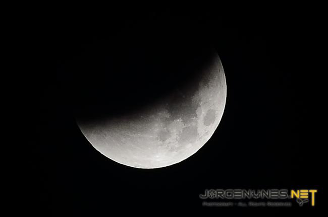 Eclipse da Lua 2015 em Portugal