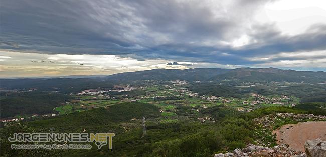 Monte de Vez - Vista sobre a Serra da Lousã