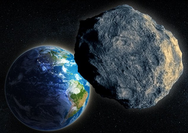 C3WKCH Large Asteroid closing in on Earth