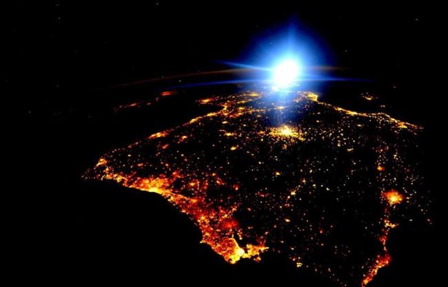 Portugal foi visto do Espaço