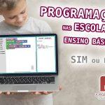 Porque devem as crianças aprender Programação nas Escolas?