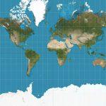 Mapa real do Mundo