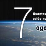 Quantas pessoas estão no espaço agora?